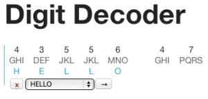 Digit Decoder Update #5