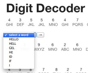 Initial Word Select