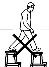 Step Stool Stilts