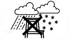 Step stool weather