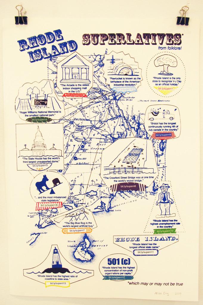 Rhode Island Superlatives Poster