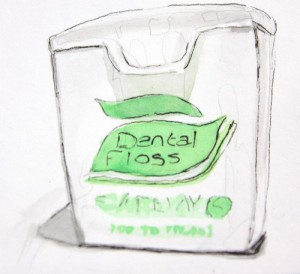 Mint Dental Floss