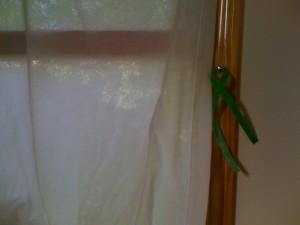 Grandma's Window Curtain - closed